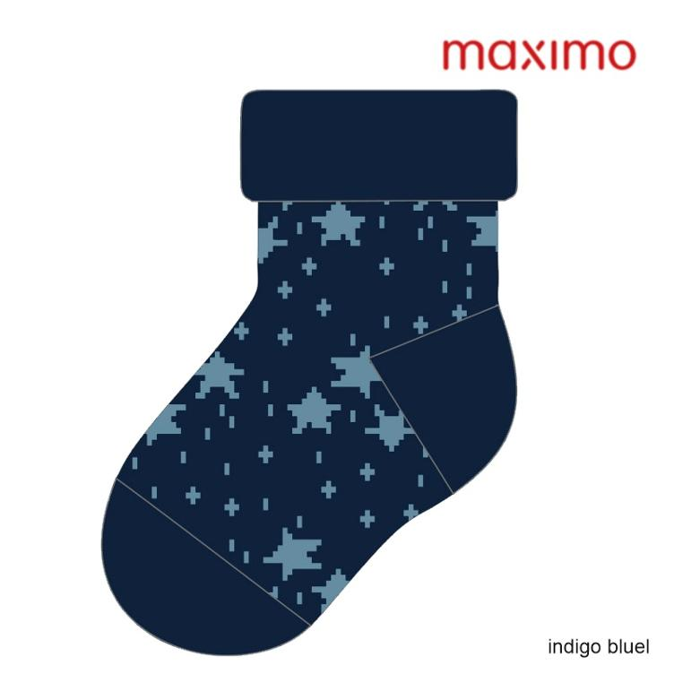 Maximo Baby Socke Vollfrottée Sterne