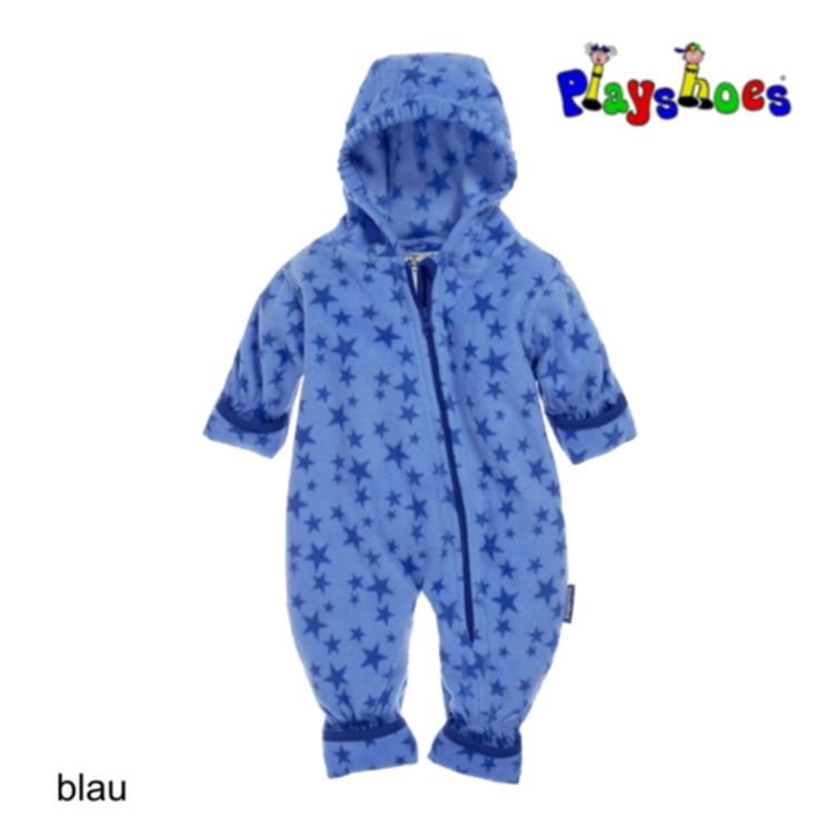 Playshoes Fleece-Overall Sterne