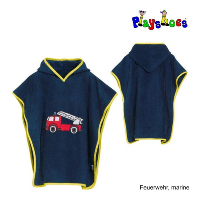 Playshoes Badeponcho Frottée